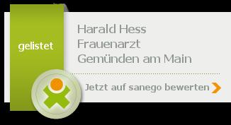 Siegel von Harald Hess