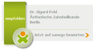 Dr. med. dent. Sigurd Pohl, von sanego empfohlen