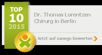 Dr. med. Thomas Lorentzen, von sanego empfohlen