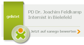 Siegel von PD Dr. Joachim Feldkamp