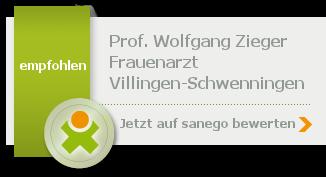 Siegel von Prof. Wolfgang Zieger