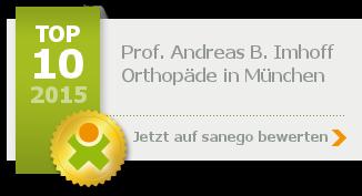 Prof. Dr. med. Andreas B. Imhoff, von sanego empfohlen