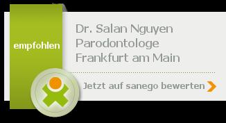 Dr. med. dent. Salan Thormeyer geb. Nguyen, von sanego empfohlen