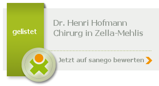 Siegel von Dr. Henri Hofmann