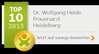Siegel von Dr. Wolfgang Heide