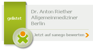 Siegel von Dr. Anton Riether