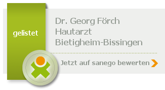 Siegel von Dr. Georg Förch