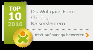 Siegel von Dr. Wolfgang Franz