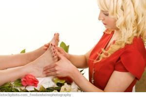 Fußreflexbehandlung