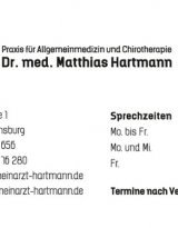 Dr. med. Matthias Hartmann