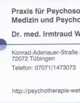 Dr. med. Irmtraud Wettach