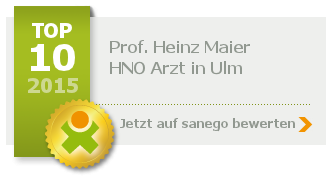 Prof. Dr. med. Heinz Maier, von sanego empfohlen