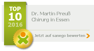 Siegel von Dr. med. Martin Preuß