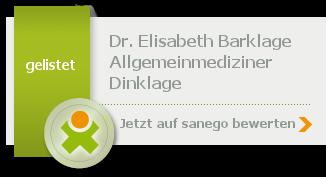 Siegel von Dr. med. Elisabeth Barklage