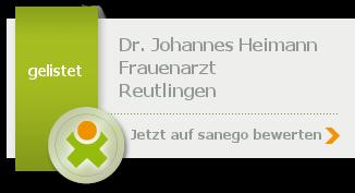 Siegel von Dr. med. Johannes Heimann