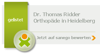 Siegel von Dr. med. Thomas Ridder