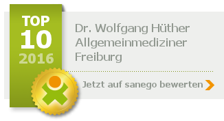 Siegel von Dr. med. Wolfgang Hüther