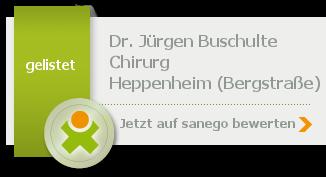 Siegel von Dr. med. Jürgen Buschulte