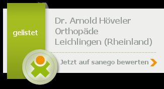 Siegel von Dr. med. Arnold Höveler