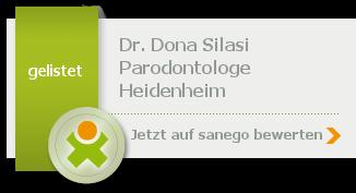 Siegel von Dr. med. dent. Dona Silasi