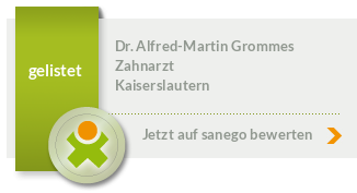 Siegel von Dr. med. dent. Alfred-Martin Grommes