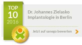 Siegel von Dr. med. Dr. med. dent. Johannes Zielasko