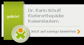 Siegel von Dr. med. dent. Karin Schuff