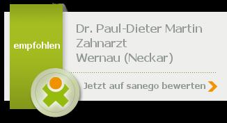 Siegel von Dr. Paul-Dieter Martin