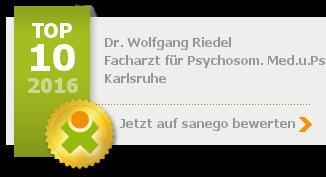 Siegel von Dr. med. Wolfgang Riedel