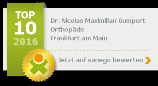 Siegel von Dr. med. Nicolas Maximilian Gumpert