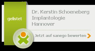 Siegel von Dr. med. dent. Kerstin Schoeneberg