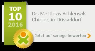 Siegel von Dr. med. Matthias Schlensak