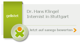 Siegel von Dr. med. Hans Klingel