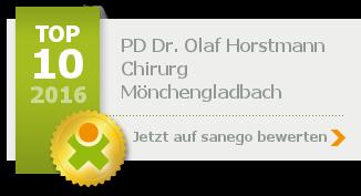 Prof. Dr. med. Olaf Horstmann, von sanego empfohlen