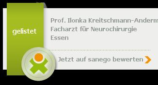Siegel von Prof. Dr. med. Ilonka Kreitschmann-Andermahr