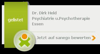 Siegel von Dr. med. Dirk Held