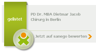Siegel von PD Dr. med. MBA Dietmar Jacob