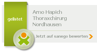 Siegel von Dipl. - Med. Arno Hapich