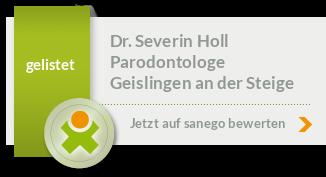 Siegel von Dr. Severin Holl