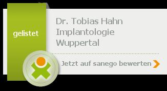 Siegel von Dr. med. dent. Tobias Hahn