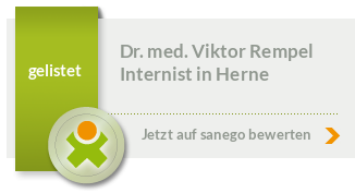 Siegel von Dr. med. Viktor Rempel