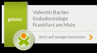 Siegel von Dr. med. Valentin Barber