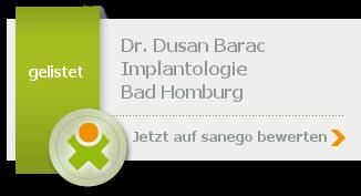 Siegel von Dr. med. dent. Dusan Barac