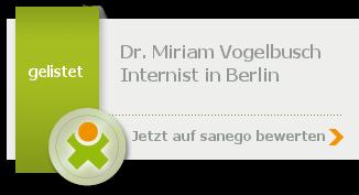 Siegel von Dr. med. Miriam Vogelbusch