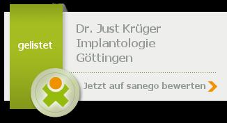 Siegel von Dr. med. dent. Just Krüger