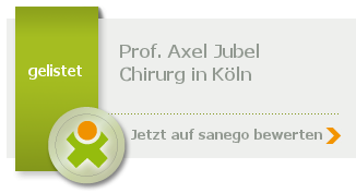 Siegel von Prof. Dr. med. Axel Jubel