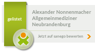 Siegel von Dipl. - Med. Alexander Nonnenmacher