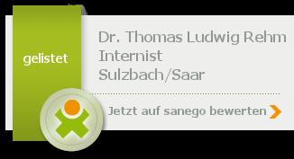 Siegel von Dr. med. Thomas Ludwig Rehm
