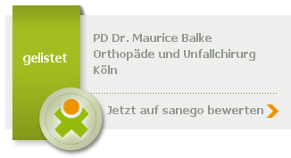 Siegel von PD Dr. med. Maurice Balke