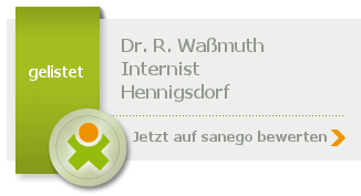 Siegel von Dr. med. R. Waßmuth